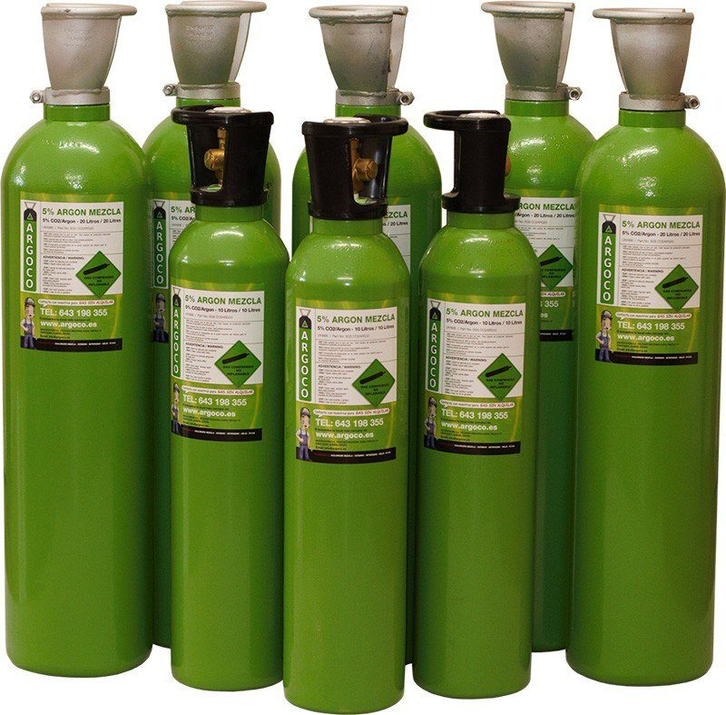 Argoco Gas Cylinders